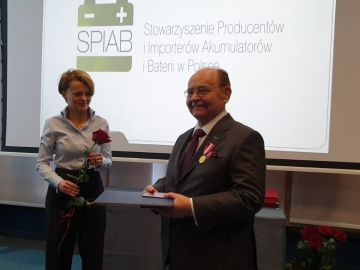 Mr Jacek Bąk, the founder of AUTOPART honored by the President of the Republic of Poland